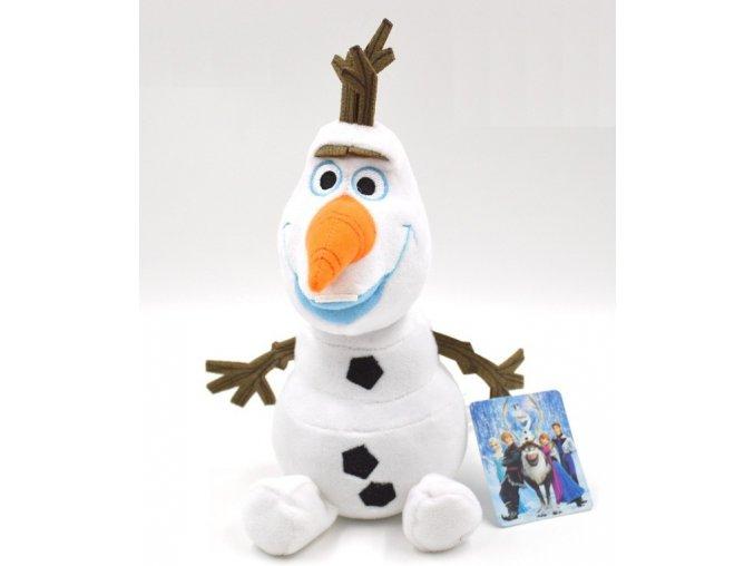 DISNEY Plyšový sněhulák Olaf 23 cm - Frozen Ledové království