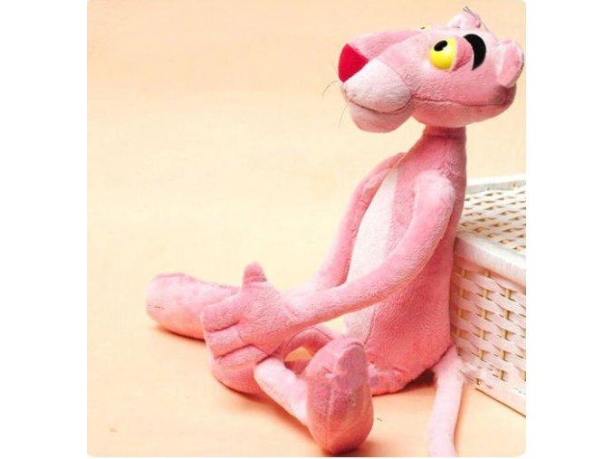 Růžový panter 40 cm