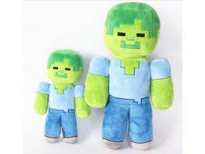 Minecraft plyšový Zombie Steve 30cm