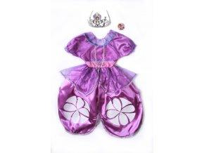 kostým princezna Sofie první fialkový od 3-7 let