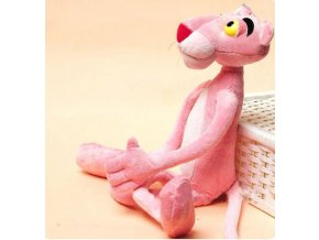 Růžový panter 37 cm