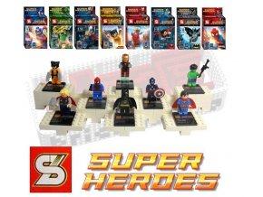 Avengers Super Heroes sada 8 figurek