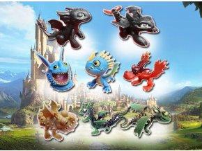 Figurky Jak vycvičit draka 8 ks