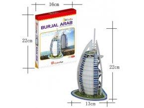 3D model Burjal Arab