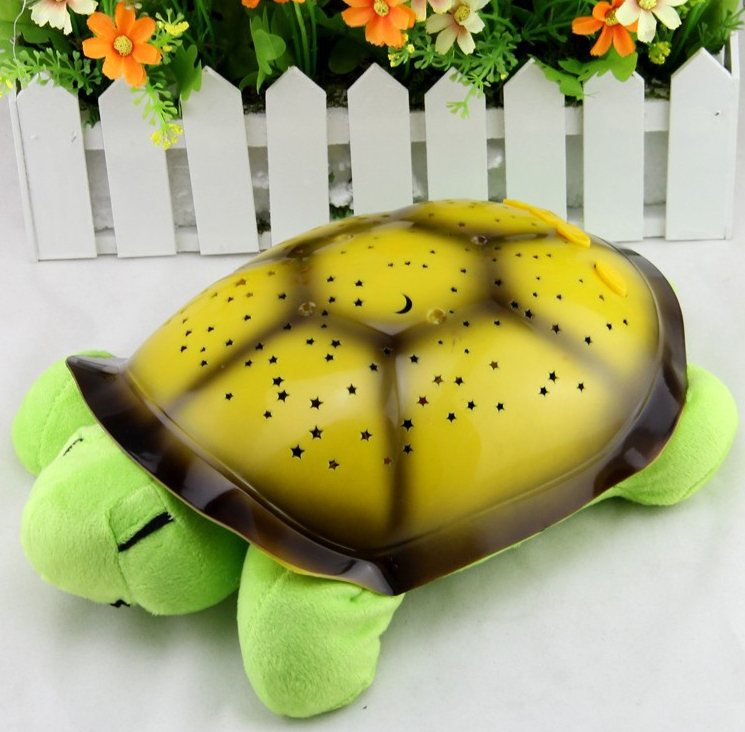 Svítící želva - lampa -30x20x11cm Barva: Zelená