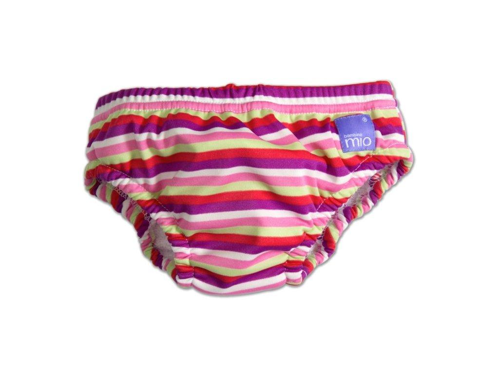 kalhotky ke koupani pink stripe