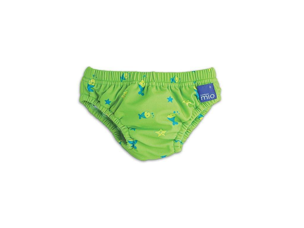 kalhotky ke koupani zelene rybicky