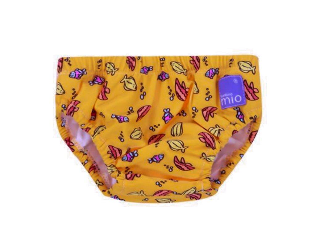 kalhotky ke koupani oranzove rybicky 2