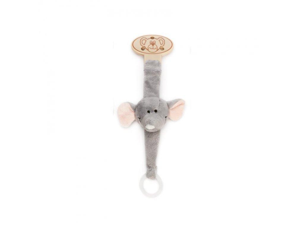 klips na dudlik slon