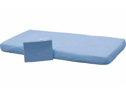 prosteradlo frote s gumou modre