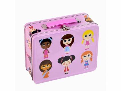 plechovy kufrik panenky