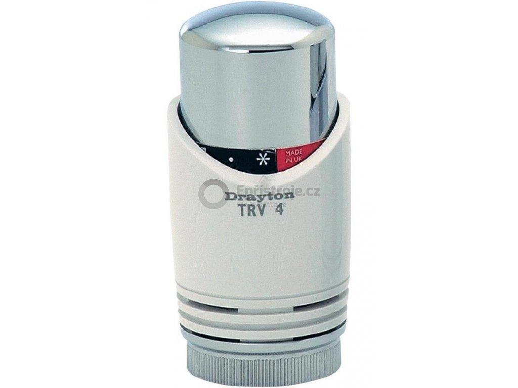 Termostatická hlavice TRV 4 Classic, M30 x 1.5, bílá/ chrom (20 35 02)
