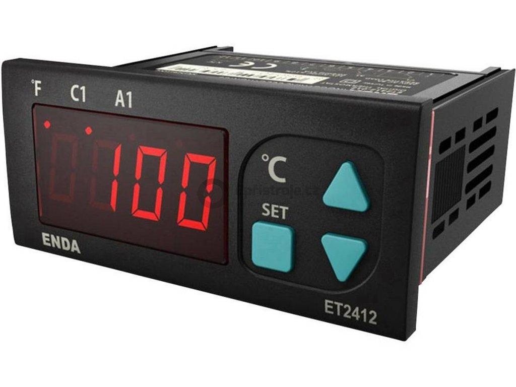 Panelový termostat Suran Enda ET1412-NTC, 230 V/AC