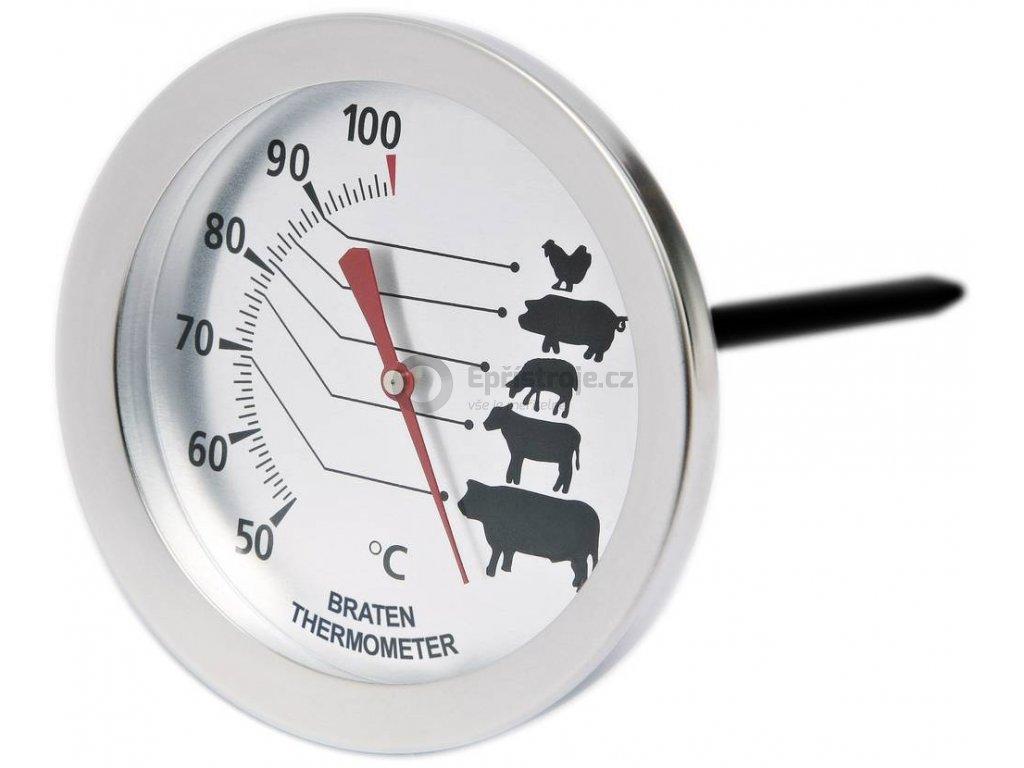 Mingle T720C | Bimetalový vpichovací teploměr na pečení masa