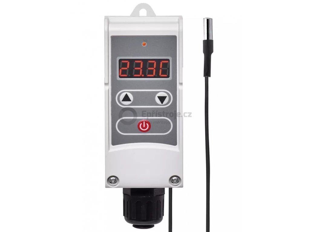 Digitální termostat EMOS P5684 s drátovým čidlem teploty | +5 až +90 °C