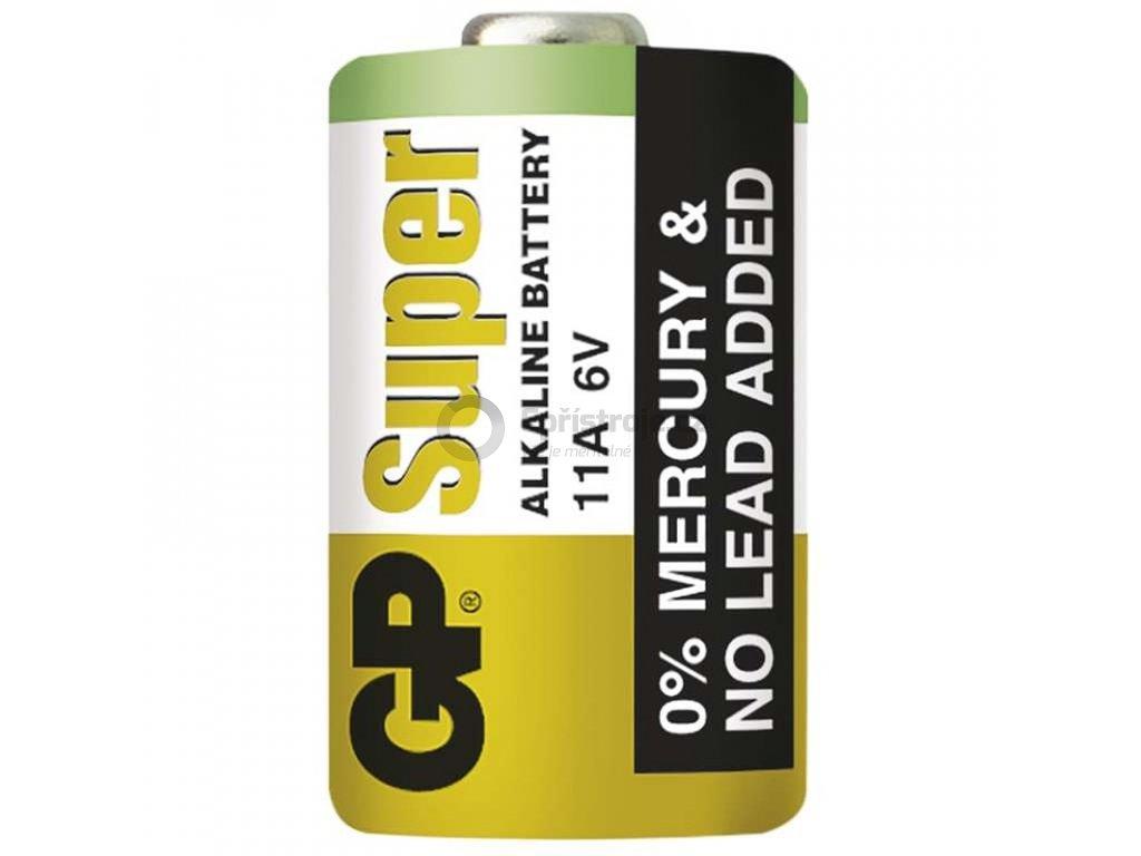 Alkalická speciální baterie GP 11AF (6V) | B13021 | 1 kus