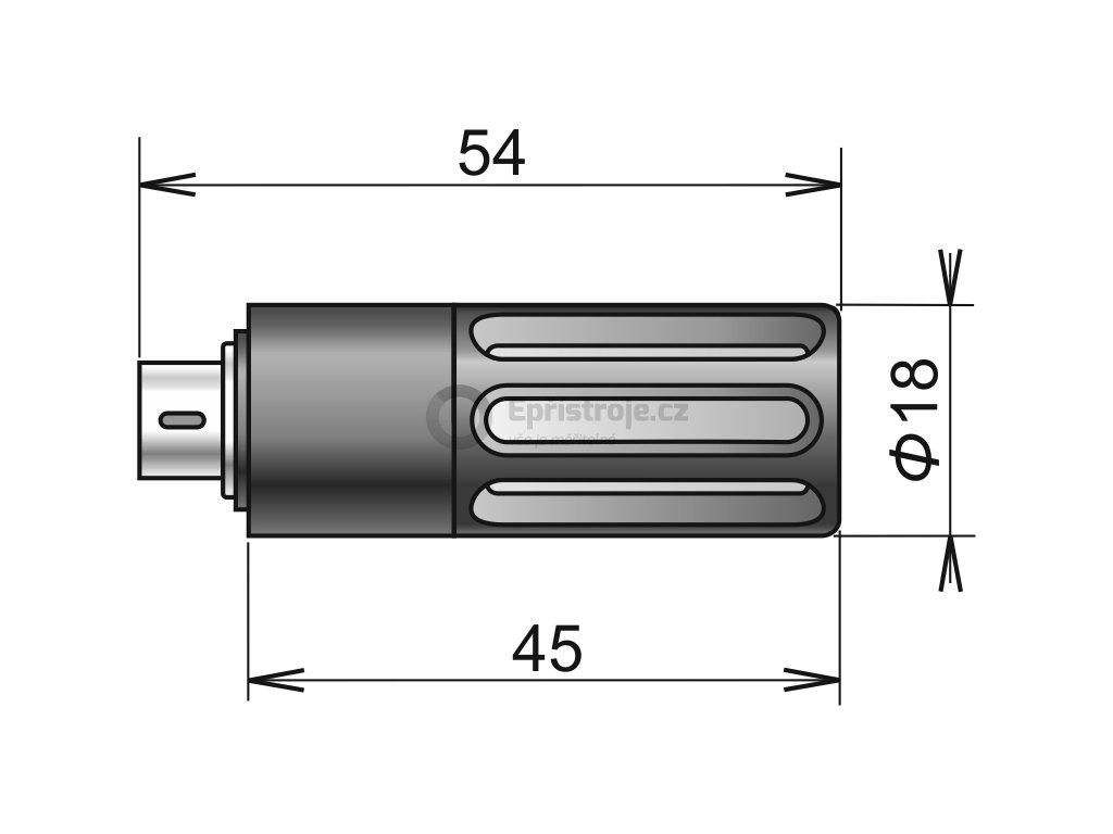 DIGIL/M - sonda teploty a relativní vlhkosti s digitálním výstupem