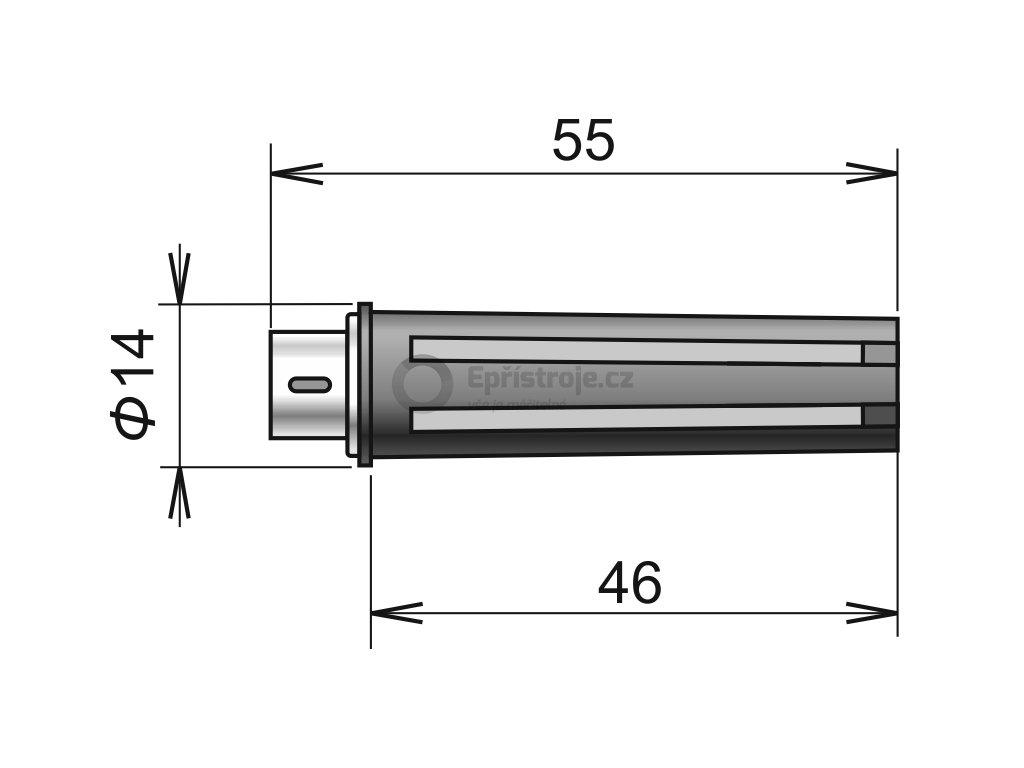 DIGIS/M - sonda teploty a relativní vlhkosti s digitálním výstupem
