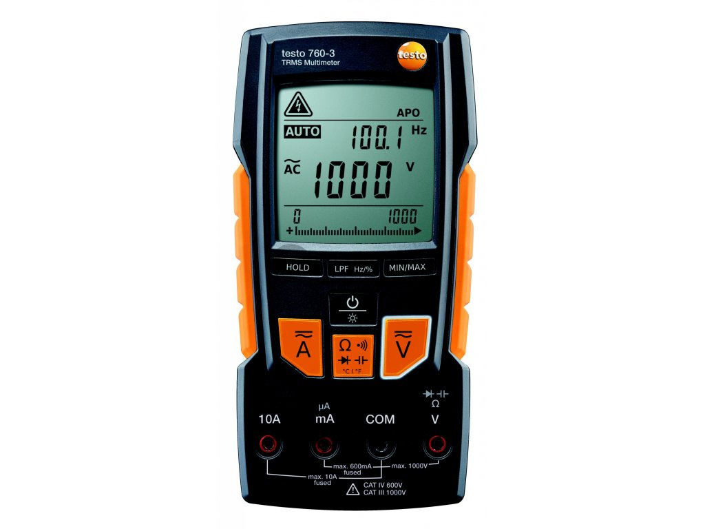Digitální multimetr TRMS testo 760-3