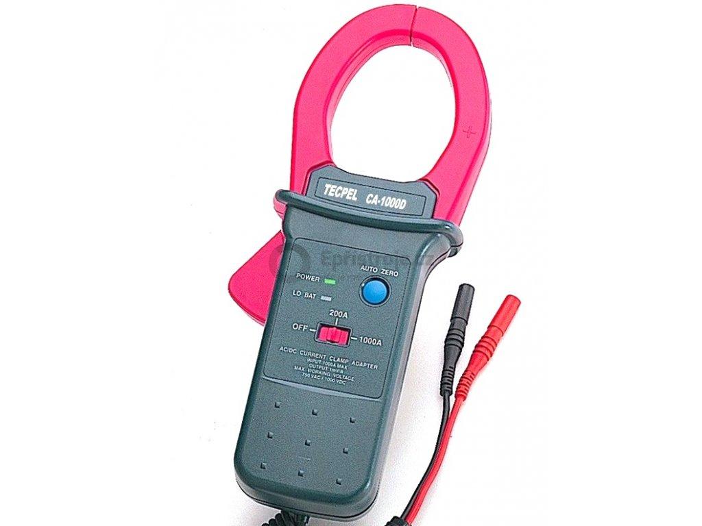 Klešťový adaptér - měření proudu až do 1000 A AC/DC