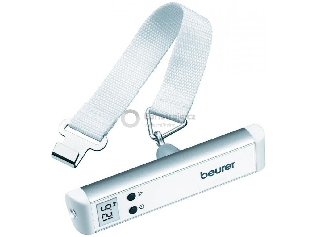 Digitální závěsná váha nejen na zavazadla Beurer LS-10