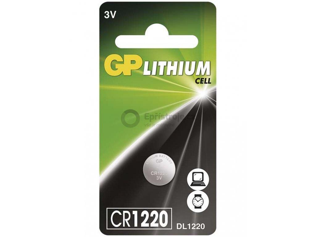 Knoflíková baterie - CR1220