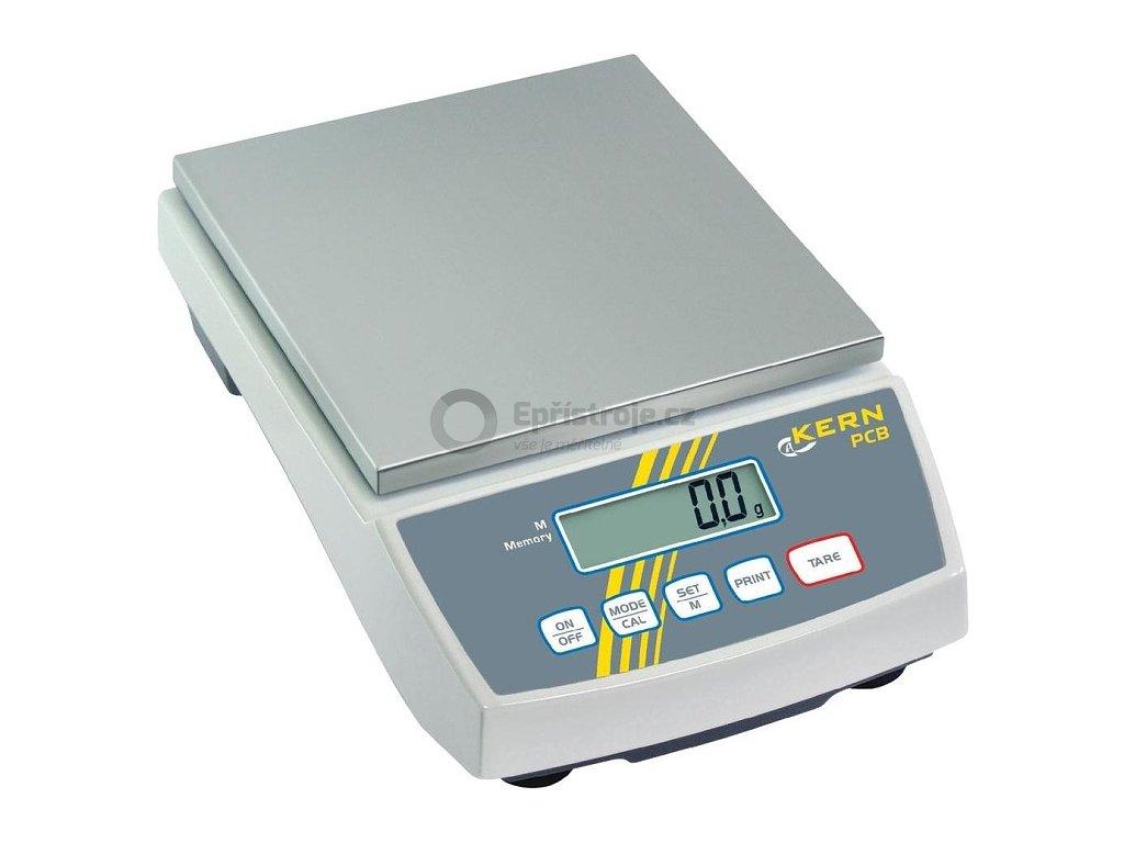 Stolní digitální váha Kern PCB 6000-1; 6000 g/0,1 g