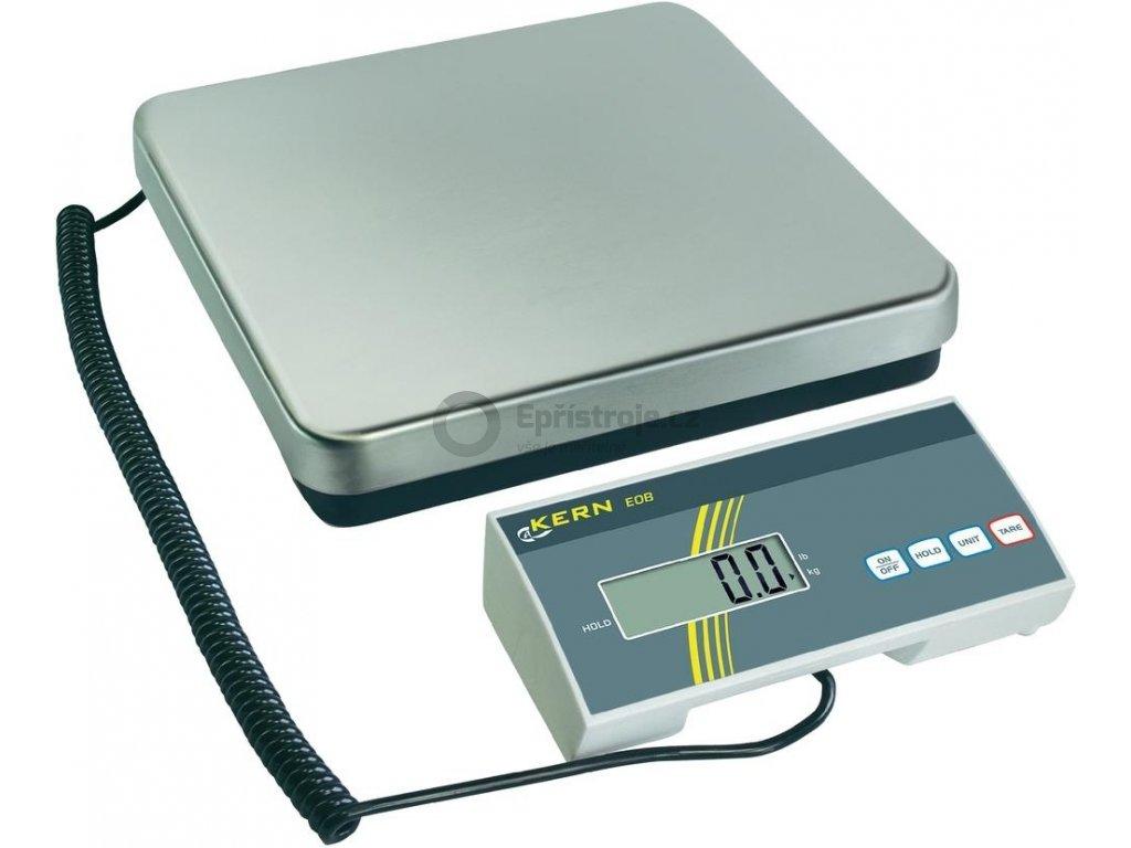 Levná digitální balíková váha KERN EOB 60K20; 60 kg/20 g