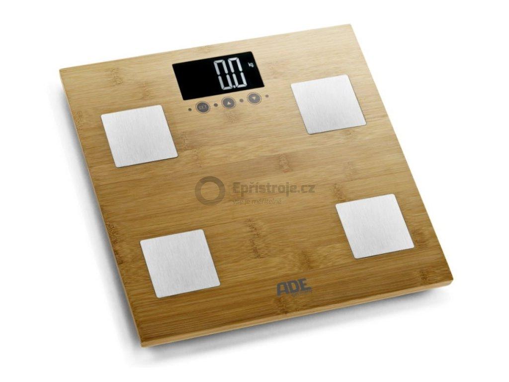 Váha s diagnostikou tělesných parametrů ADE BA 914 Barbara, bambusová