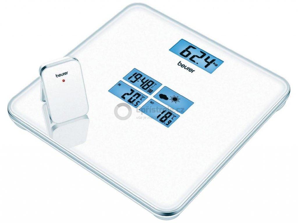 Osobní váha s meteorologickou stanicí Beurer GS 80