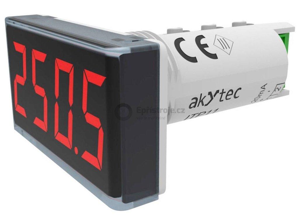 Panelové měřidlo Akytec, ITP11, 4 - 20 mA