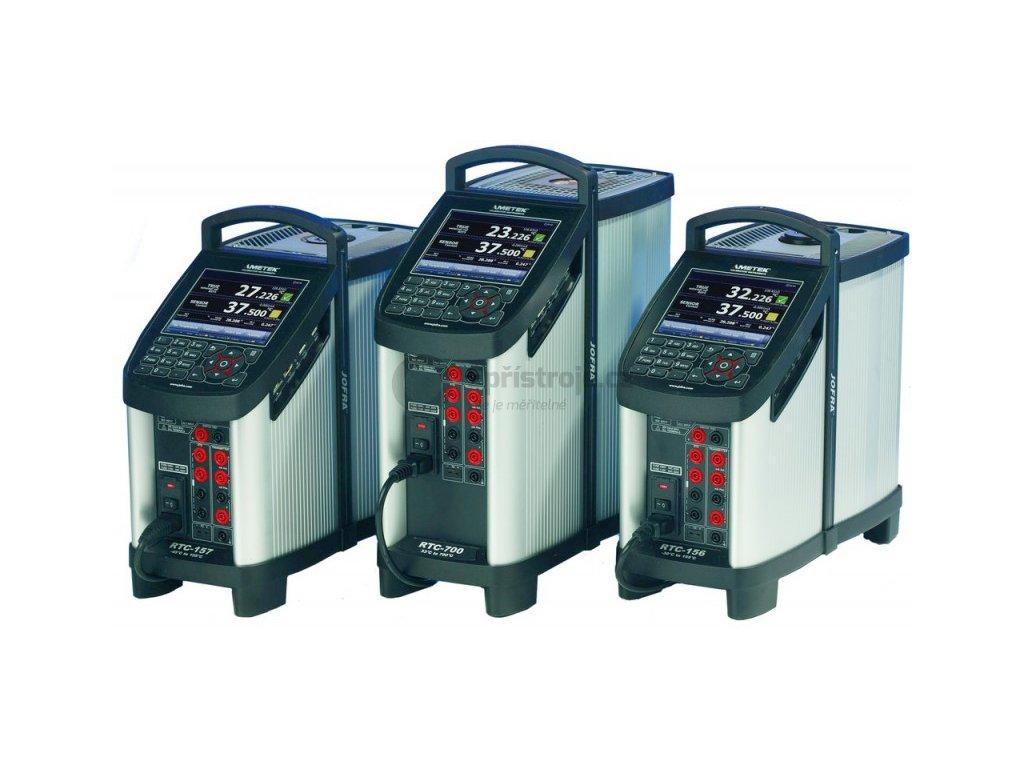 Procesní kalibrace teploměru od -25°C do +400°C, 4 teplotní body