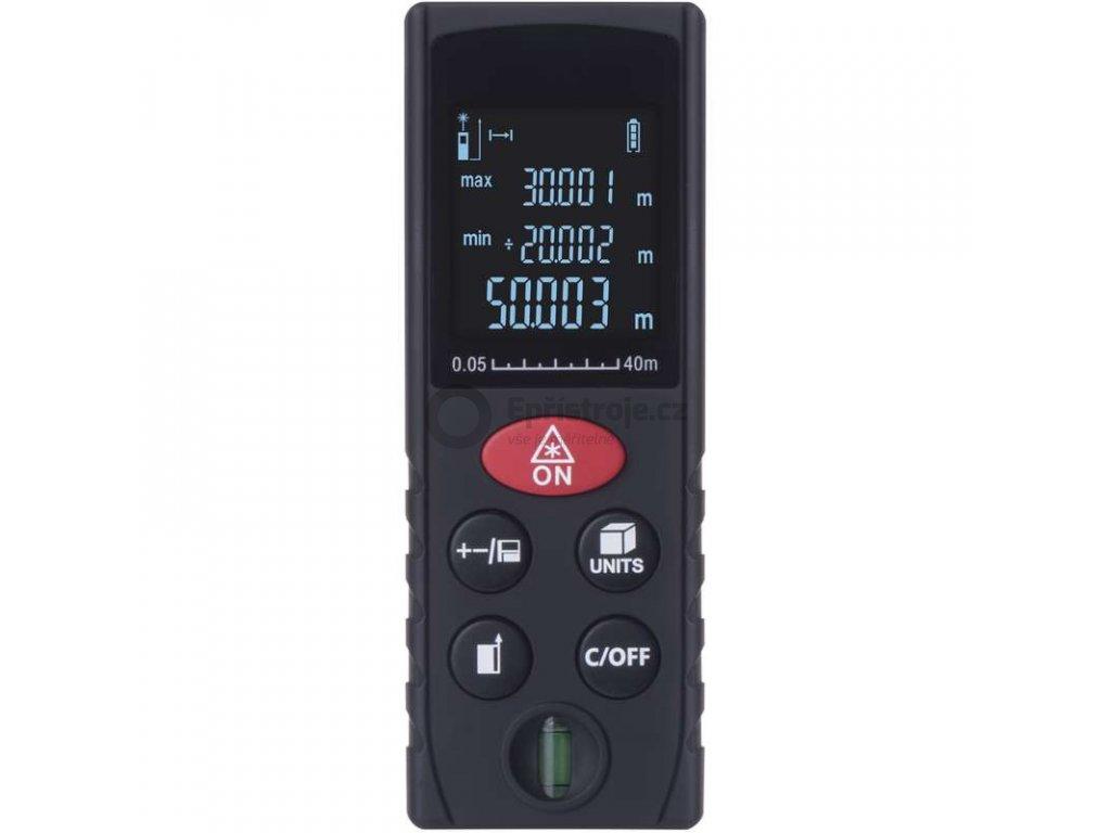 Laserový měřič vzdálenosti M0502   0,05 až 40 m