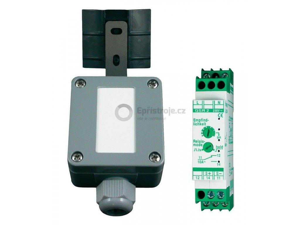 Senzor deště detektor s nastavitelným relé