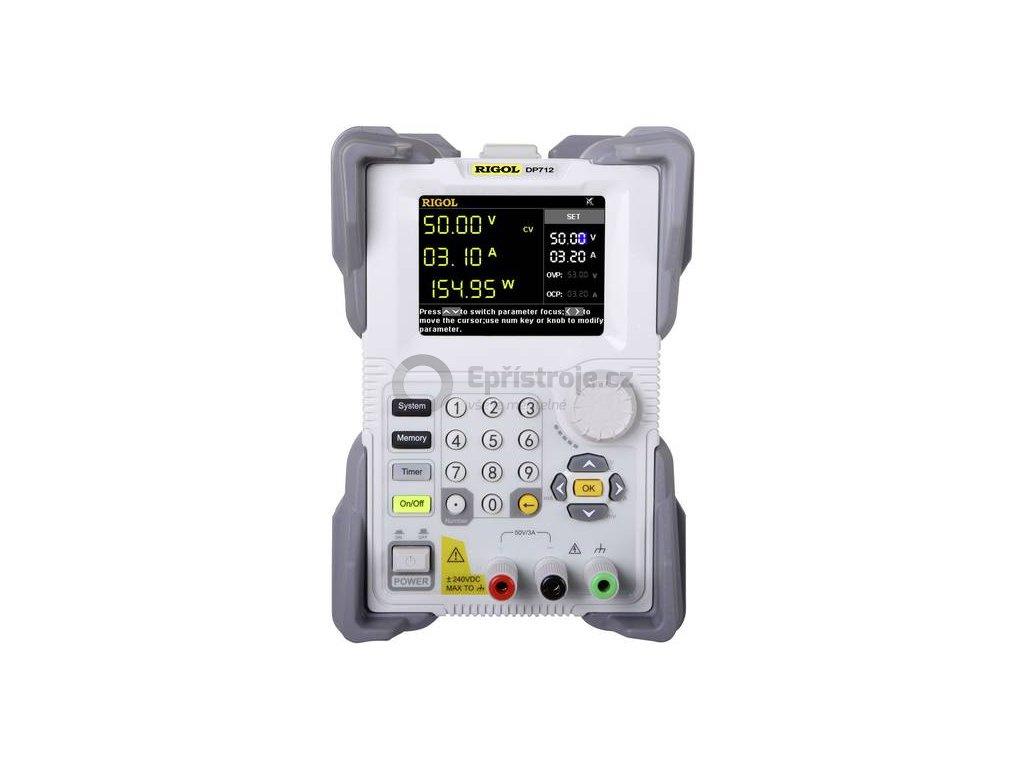 Laboratorní zdroj s nastavitelným napětím Rigol DP712, 0 - 50 V, 0 - 3 A, 150 W