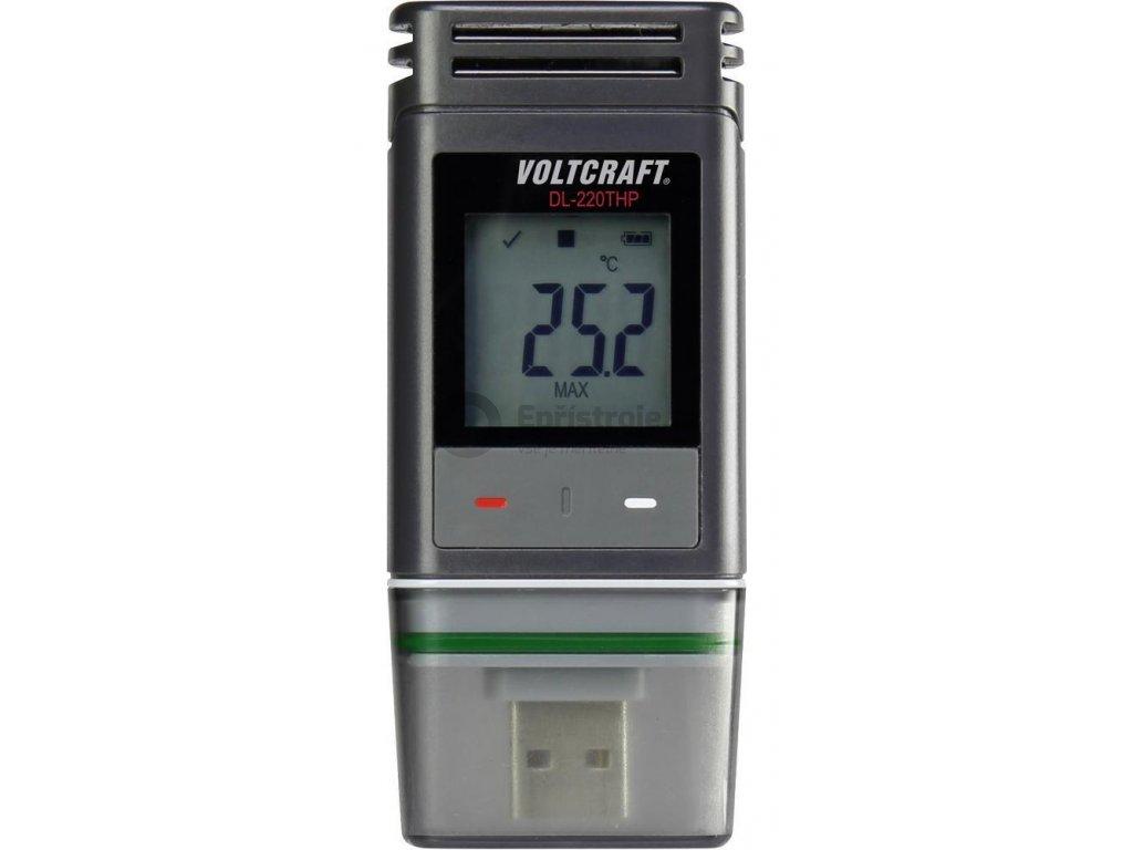 Datalogger Voltcraft DL-220THP - teploměr, vlhkoměr, barometr