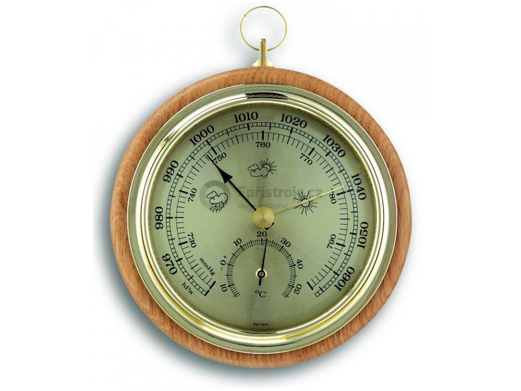 TFA 45.1000.05   Dřevěný barometr-teploměr   Buk