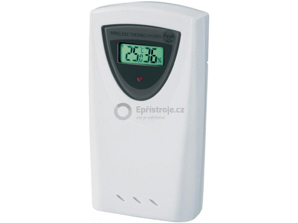 Bezdrátový senzor teploty/vlhkosti GARNI 35A, 5-kanálový, s displejem