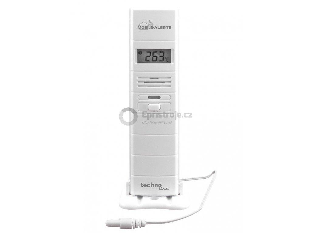 Bezdrátové čidlo MOBILE-ALERTS MA10300 pro měření teploty a relativní vlhkosti vzduchu s teplotním čidlem na kabelu