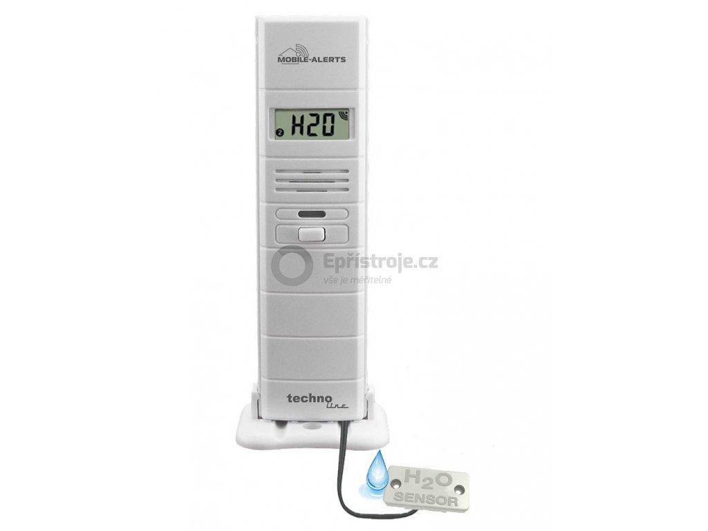 Bezdrátové čidlo MOBILE-ALERTS MA10350 pro měření teploty a relativní vlhkosti vzduchu s kabelem pro detekci vody