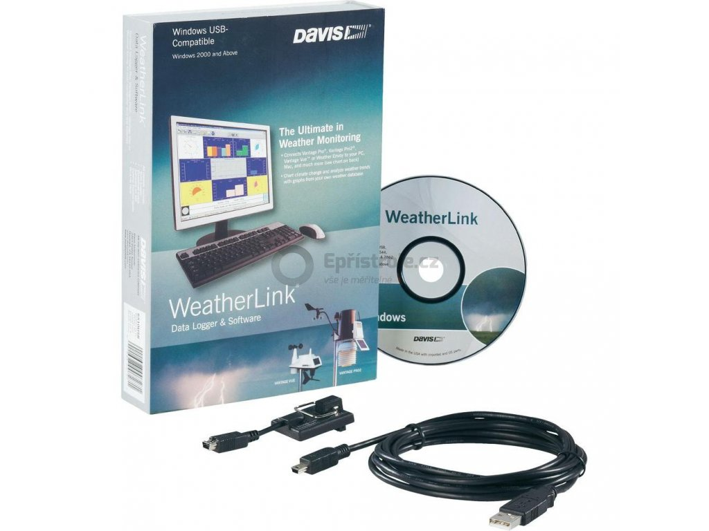 Software Davis Instruments Weather Link USB
