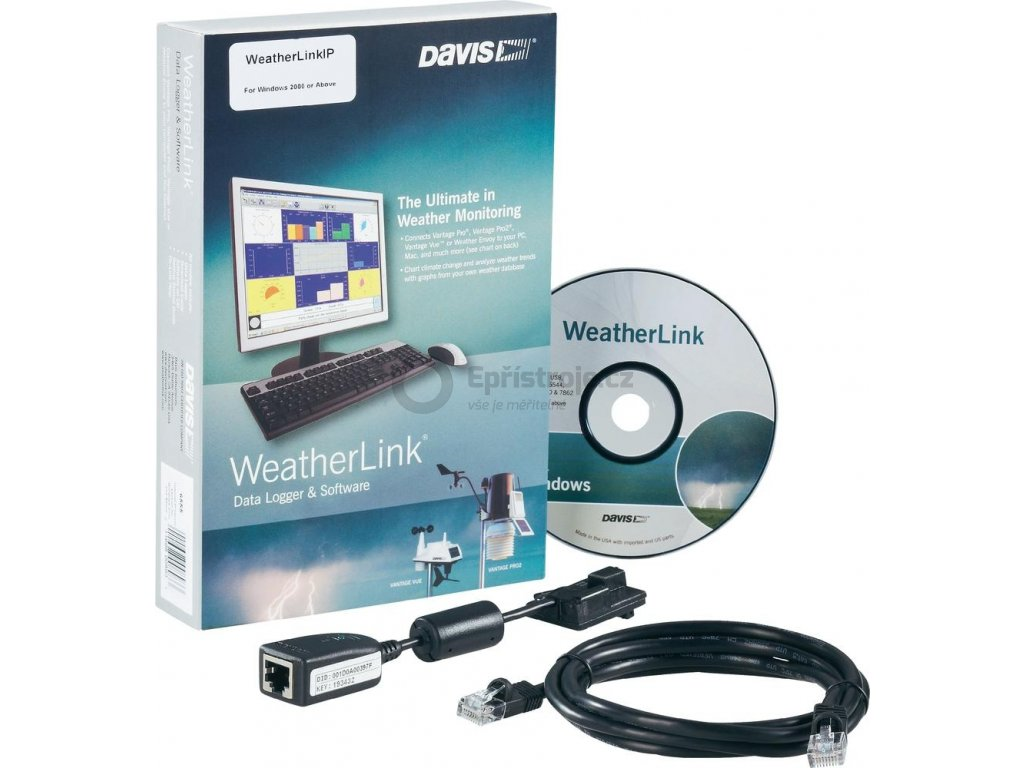 Software Davis Instruments Weather Link IP, DAV-6555, RJ45