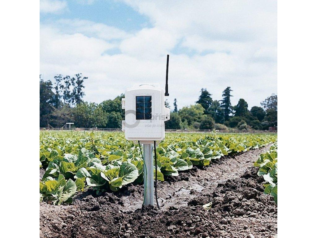 Bezdrátová stanice vlhkosti půdy a listů, bez senzorů