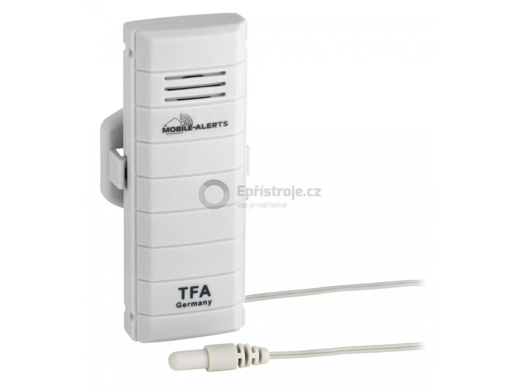 Bezdrátové čidlo teploty s kabelovým senzorem TFA 30.3301.02 pro WEATHERHUB
