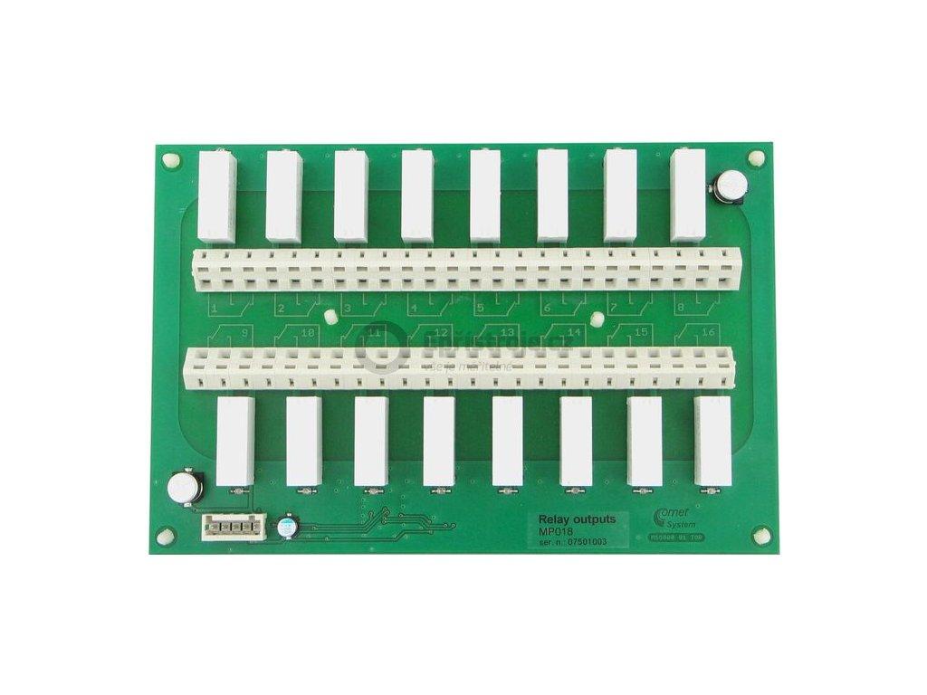 MP018 | Deska relé pro měřící ústředny