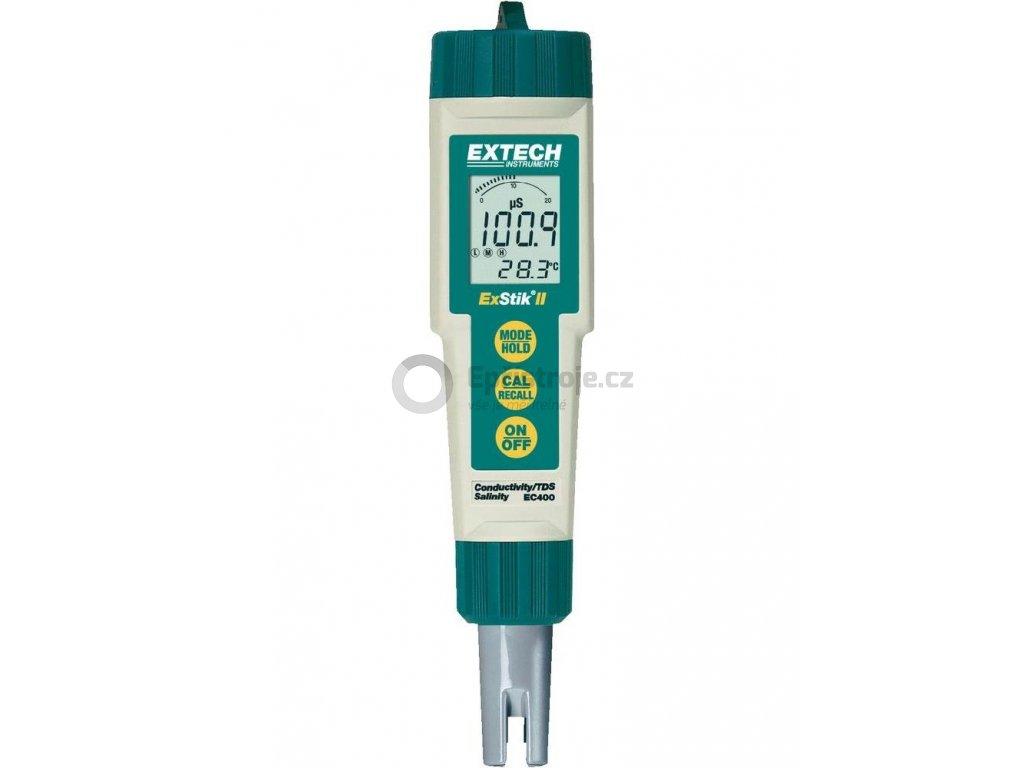 Digitální měřič vodivosti a TDS - konduktoměr Extech EC400