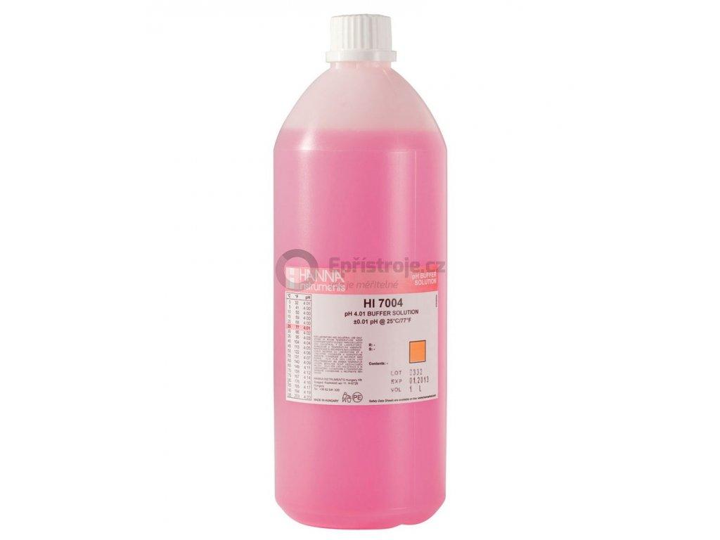 Kalibrační roztok pro pH 4,01 - HI7004/1L, objem 1 litr