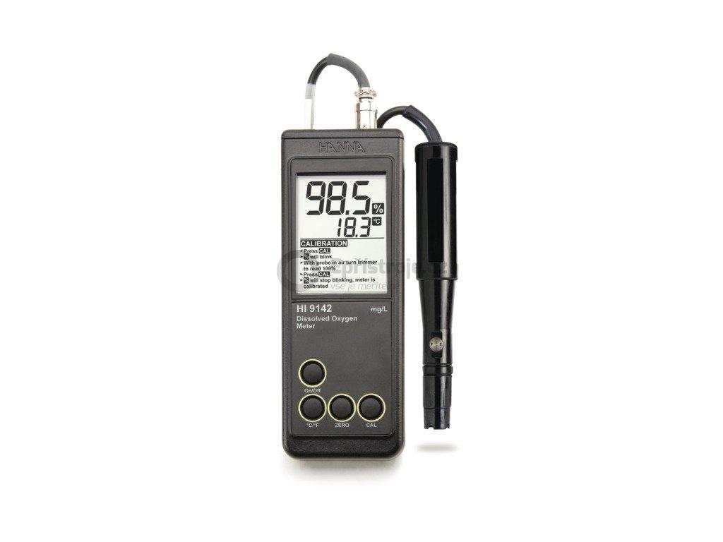Oxymetr pro měření rozpuštěného kyslíku HI9142