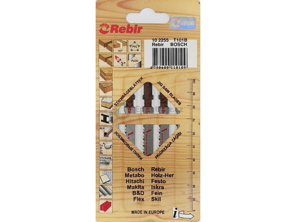Pilové plátky do přímočarých pil | na dřevo, PLEXI | 75 mm | čistý řez | 5 kusů | 102255