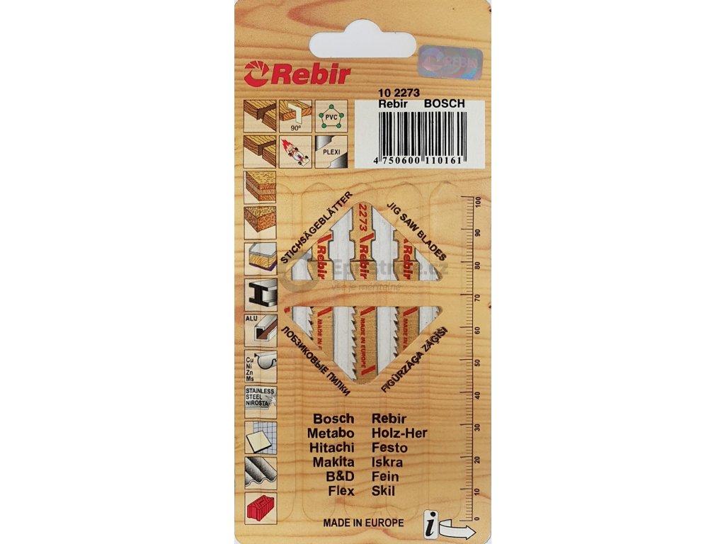 Pilky do přímočarých pil   na dřevo   70 mm   čistý řez   5 kusů   102273